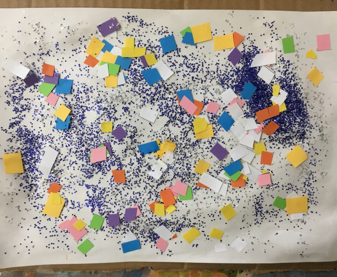 Confetti Collage by Eyad