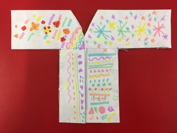 Sara's Paper Kimonos