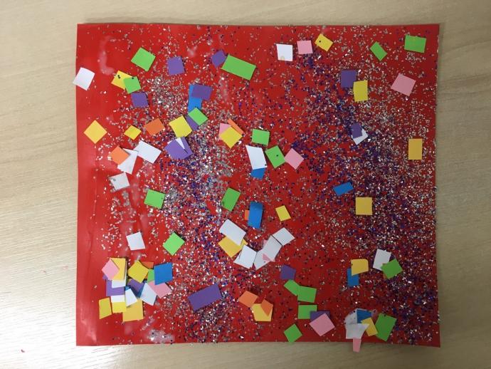 Yahya's Confetti Collage