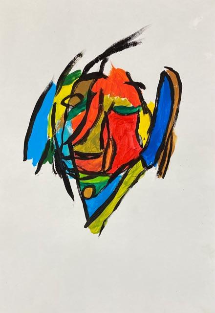 Amelie's Blind Portrait