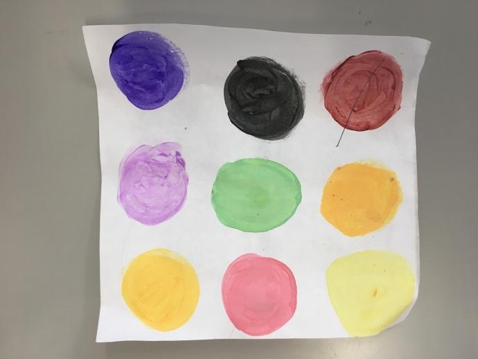 Sara's Dot-printing